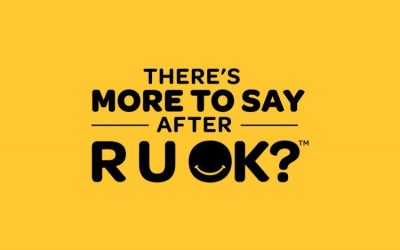 R U OK? We're here for you, and here's how you can support others